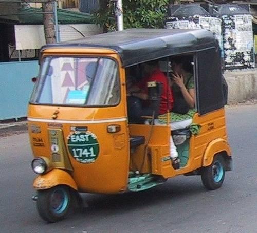 Los autos rickshaw 1