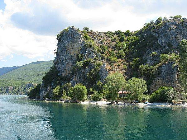 El lago Ohrid 1