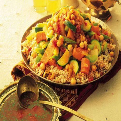 Gastronomía típica de Africa