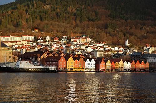 El barrio de Bryggen 1