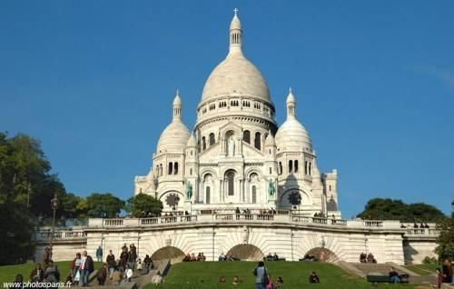 La Basílica del Sagrado Corazón de Montmartre 1