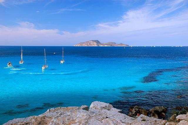 Vacaciones en las islas Egades