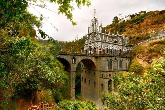 Santuario de Las Lajas, todo un atractivo de Colombia 1