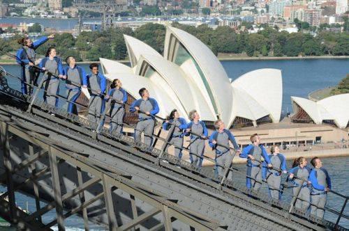 Turismo aventura en el Puente de Sydney