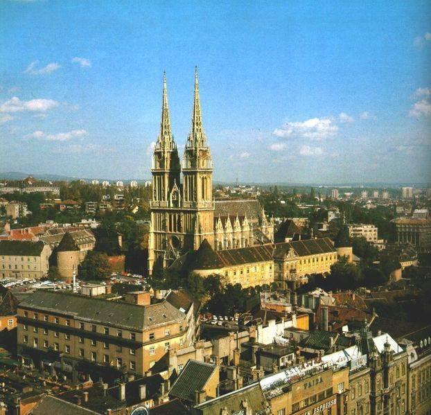 catedral de zagreb croacia