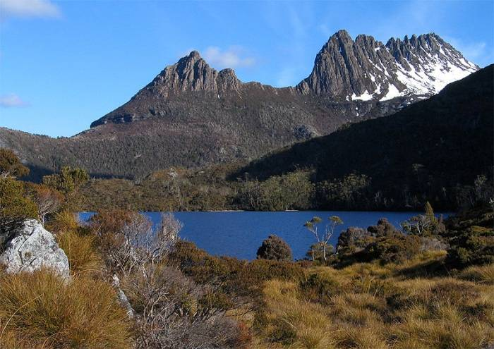 parque nacional cradle mountain st clair