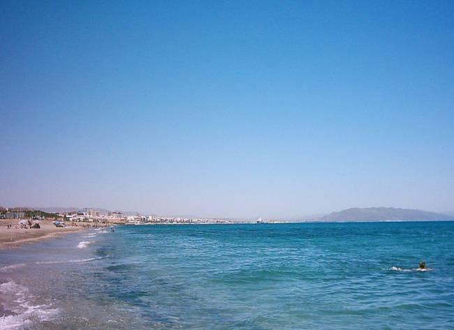 playa de mojacar almería