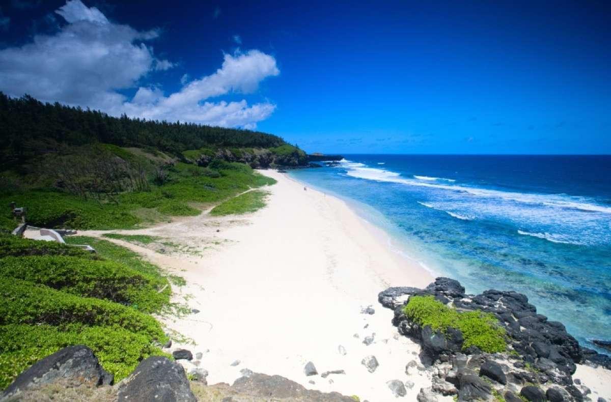 playas de isla Mauricio