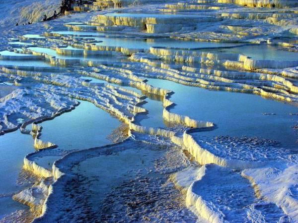 Turismo termal y arqueológico en Pamukkale