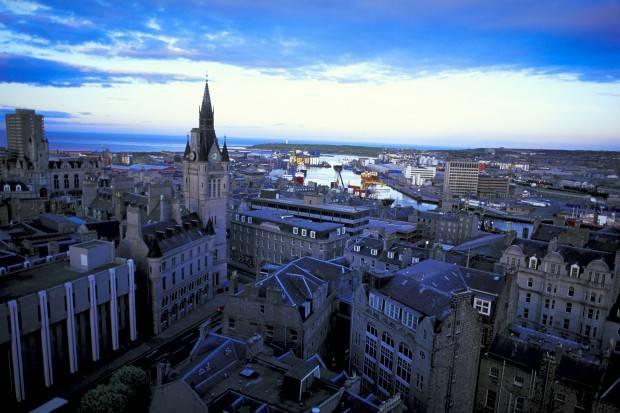 Visitando la ciudad escocesa de Aberdeen