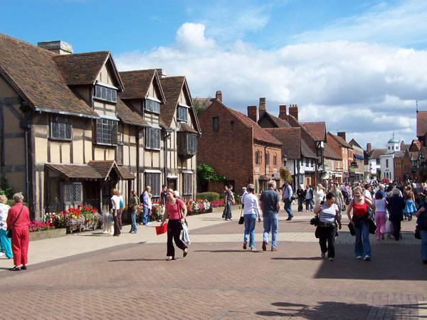 Turismo en Stratford, cuna de Shakespeare