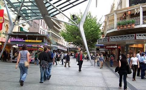 De compras por Brisbane 1