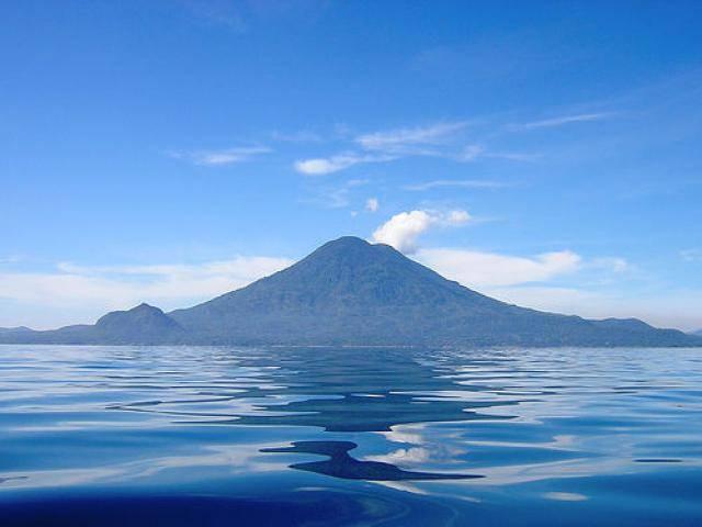 Turismo en el lago Atitlán