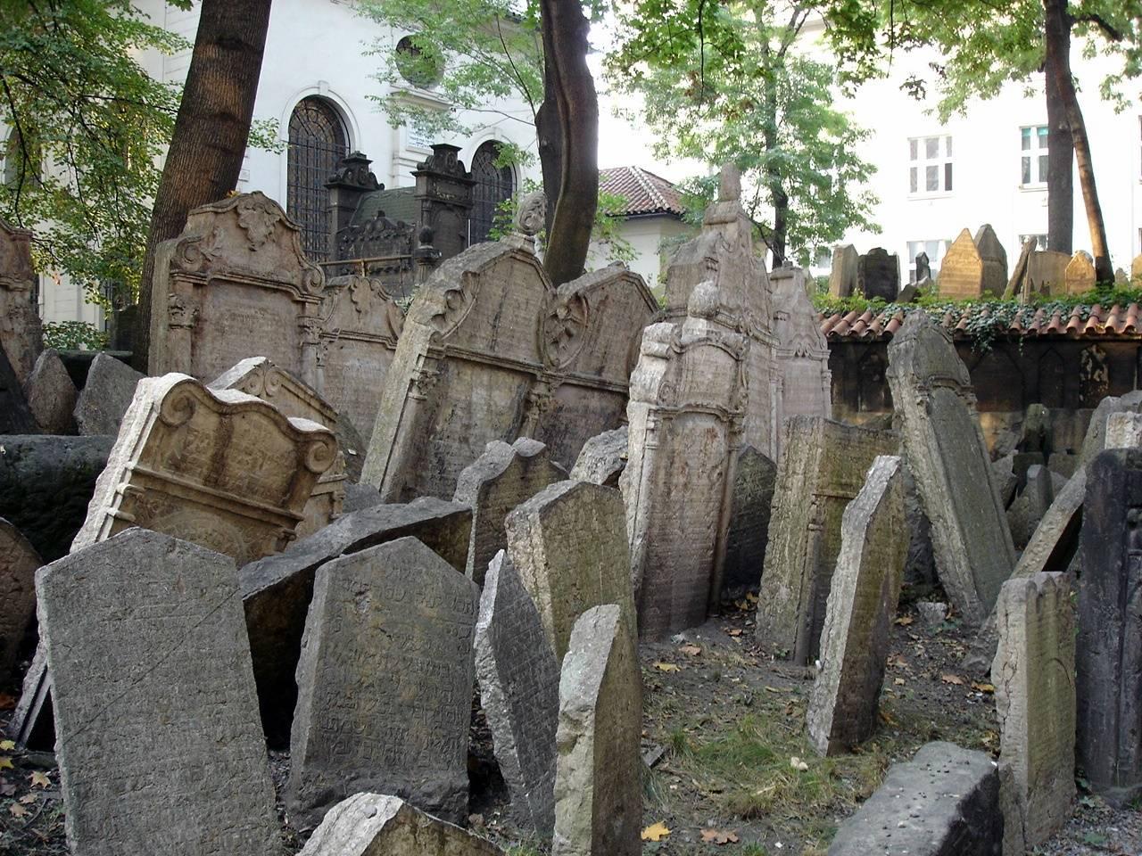El cementerio judío de Praga 1
