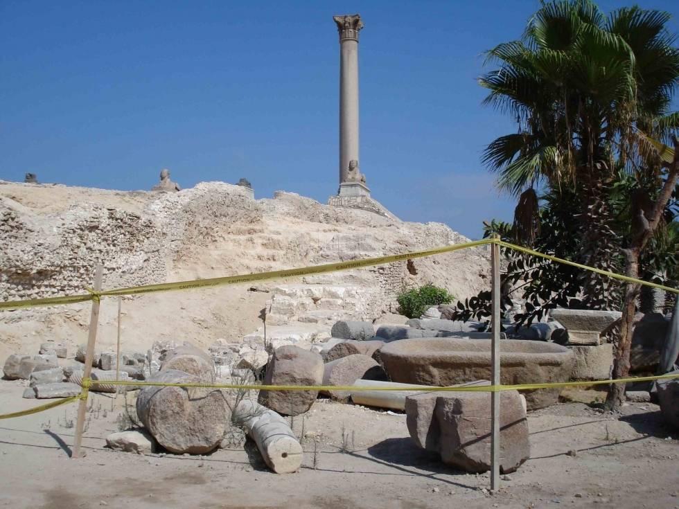 La Columna de Pompeyo 1