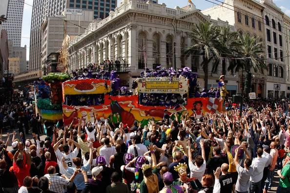 El Mardi Gras, Carnaval de New Orleans 1