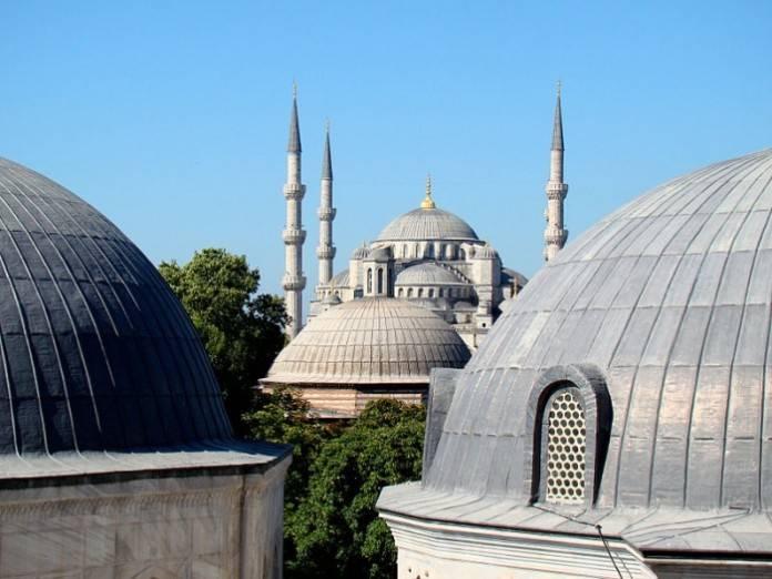 Mezquita Azul en Estambul Turquía 3