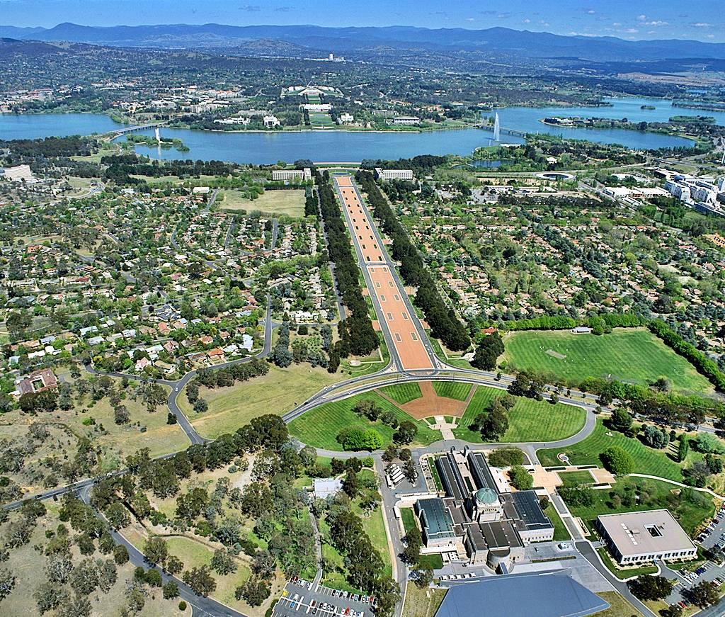 Turismo y urbanismo en Canberra
