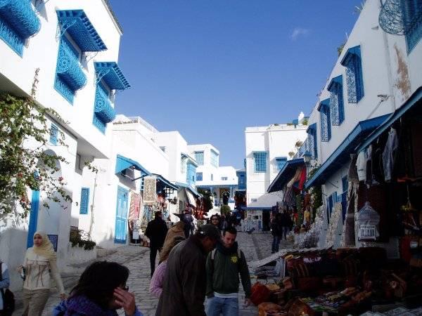 Conociendo Sidi Bou Said, un pueblito turístico en Túnez