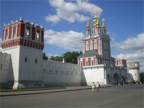 Monasterio Novodévichi