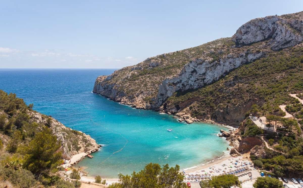 Alicante, jávea Cala de la Granadella