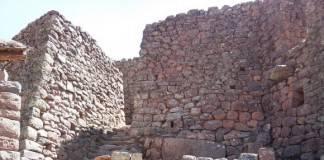 Sitio arqueologico en Peru