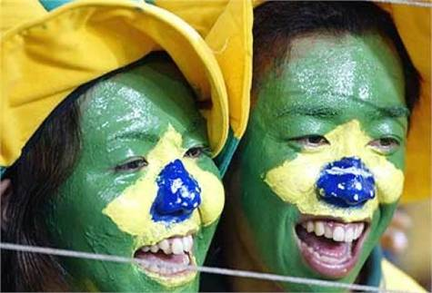 Mundial Brasil turistas