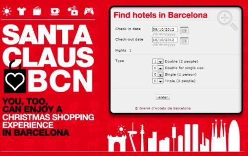 Barcelona Christmas Shopping