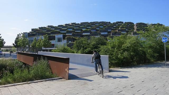 Un particular barrio futurista