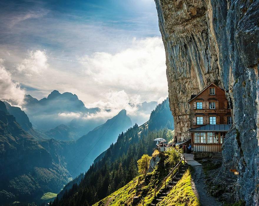 Ascher Cliff, Switzerland - hoteles increíbles