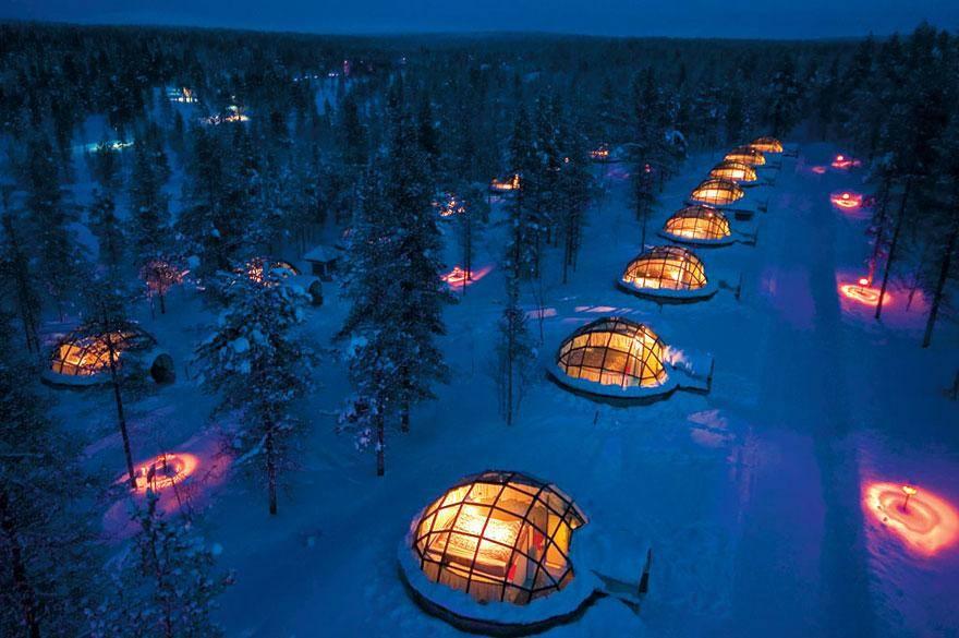 Hotel Kakslauttanen, Finland - hoteles increíbles