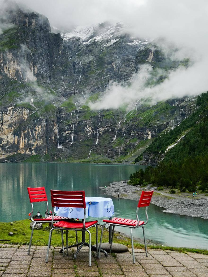 Hotel-Restaurant Oschinensee, Switzerland - hoteles increíbles