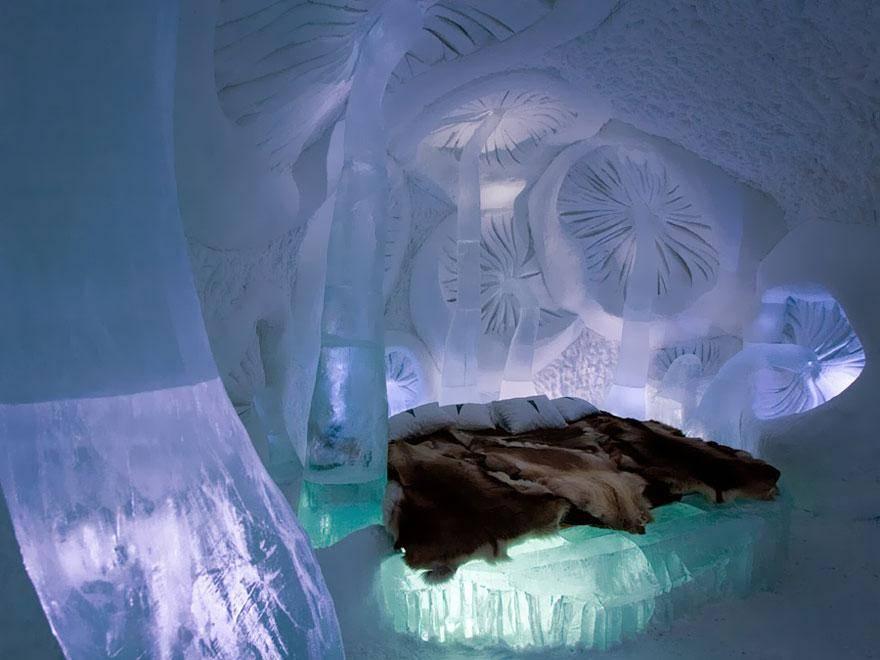 Ice Hotel in Jukkasjarvi, Sweden 1 - hoteles increíbles