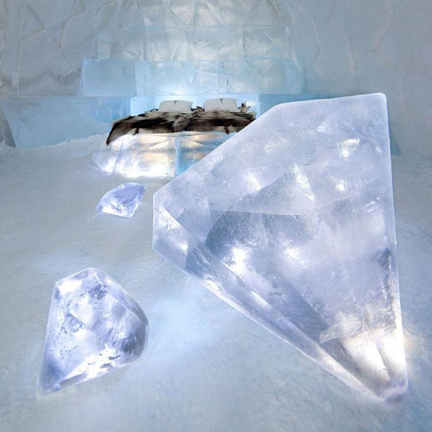 Ice Hotel in Jukkasjarvi, Sweden 2 - hoteles increíbles