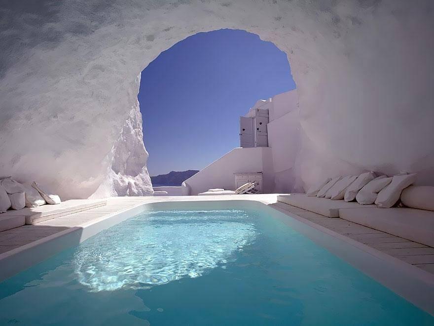 Katikies Hotel-Oia, Greece - hoteles increíbles