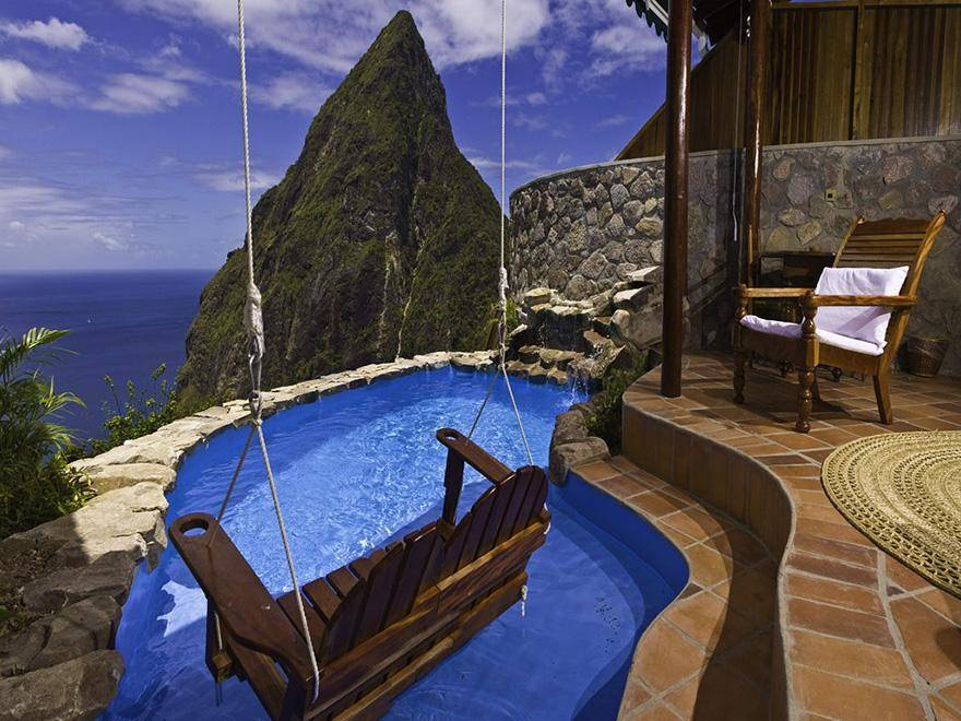 Ladera Resort, St. Lucia - hoteles increíbles