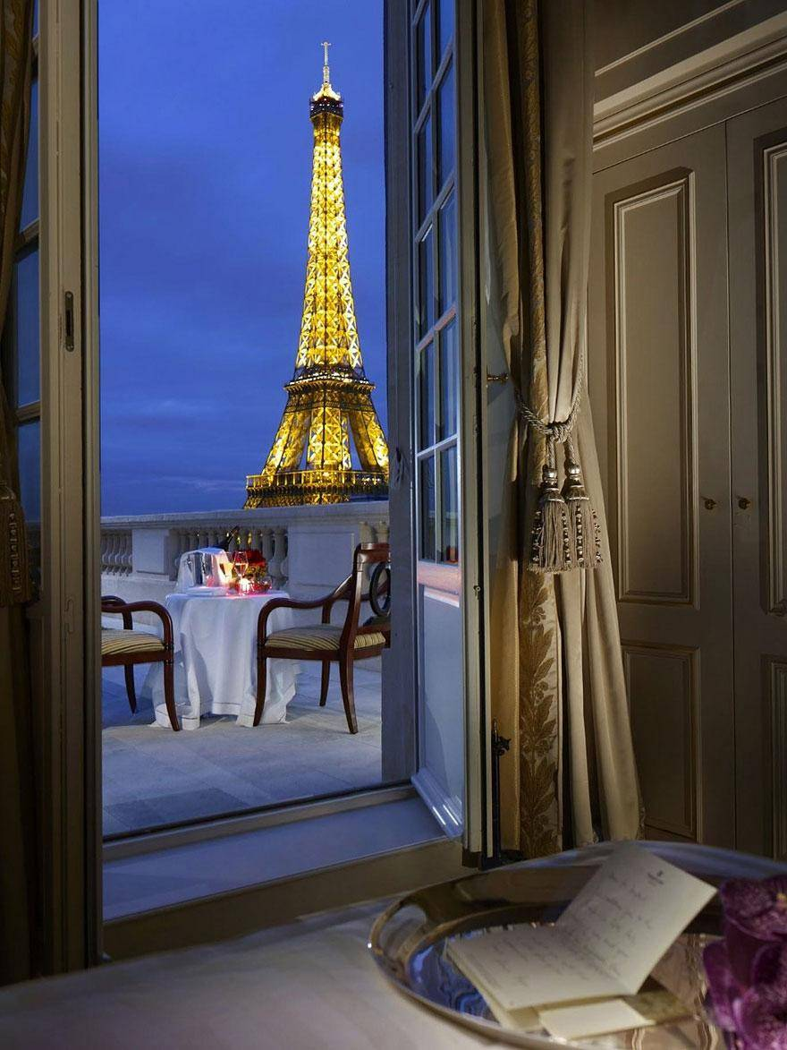 Shangri La, Paris - hoteles increíbles