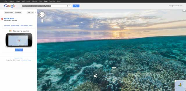 Viaja con Google Maps al fondo del mar