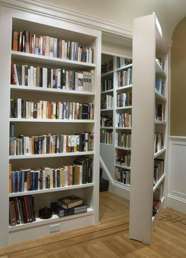 cosas caras libreria con pasadizo secreto
