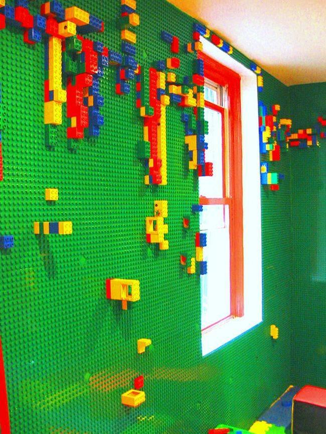 cosas caras - paredes de lego