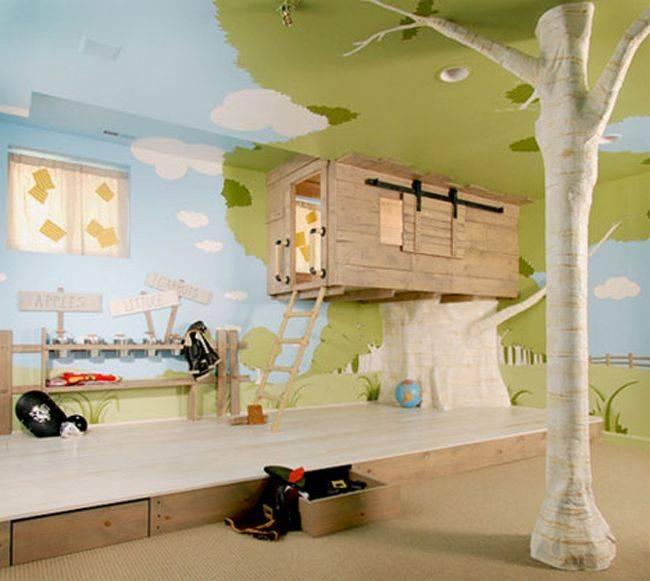 cosas caras un cuarto tematico para los niños