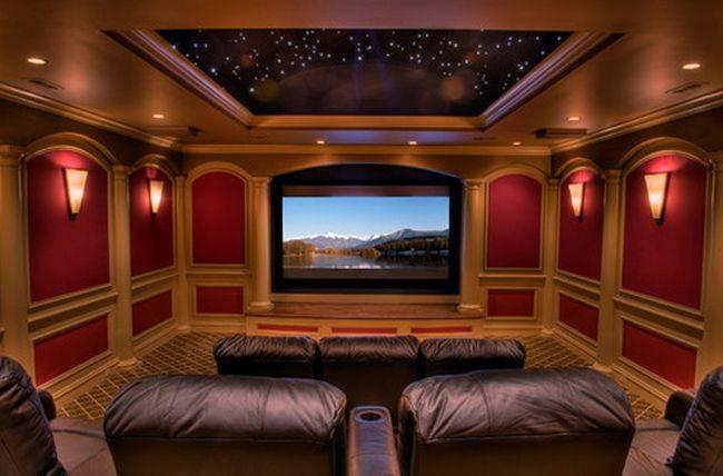 cosas caras - un teatro y cine en casa