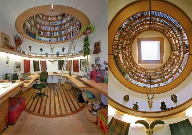 cosas caras - una biblioteca en casa