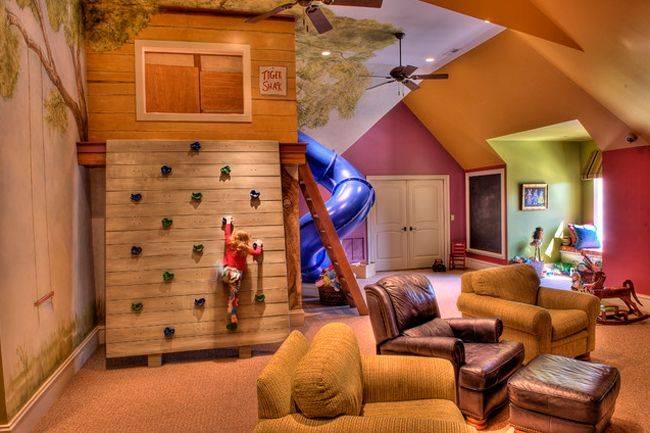 cosas caras - una habitacion para la diversion de la familia