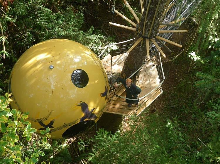 6. Hotel -  British Columbia, Canada - Free-Spirit-Spheres