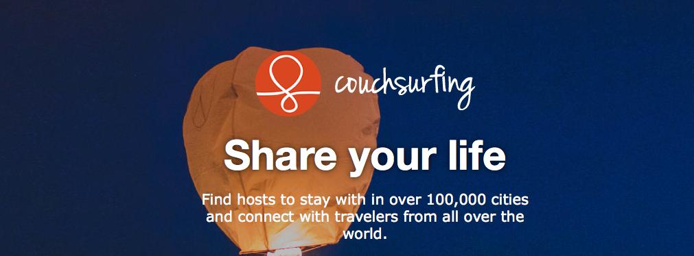 Couch surfing: nunca viajar fue tan barato 1