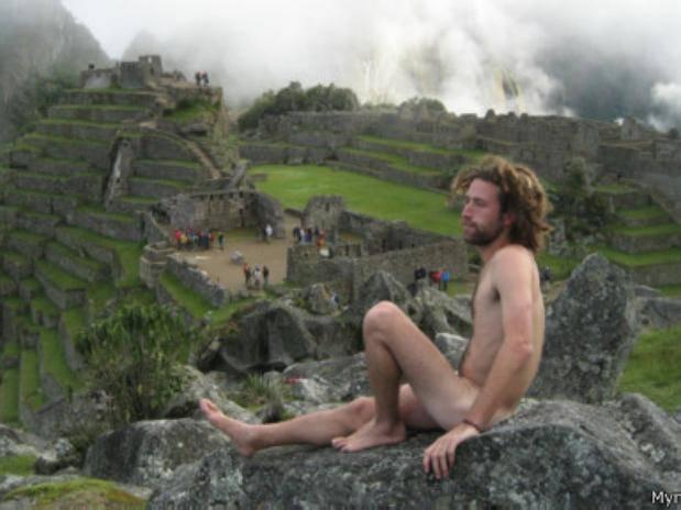 Preocupación por nudistas en el Machu Picchu 2