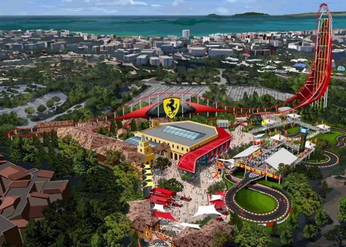 Ferrari Land, la nueva atracción que prepara PortAventura 2