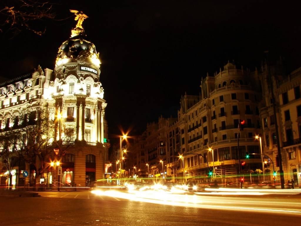 Ruta de una noche madrileña