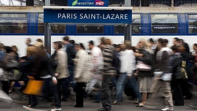Transporte público París